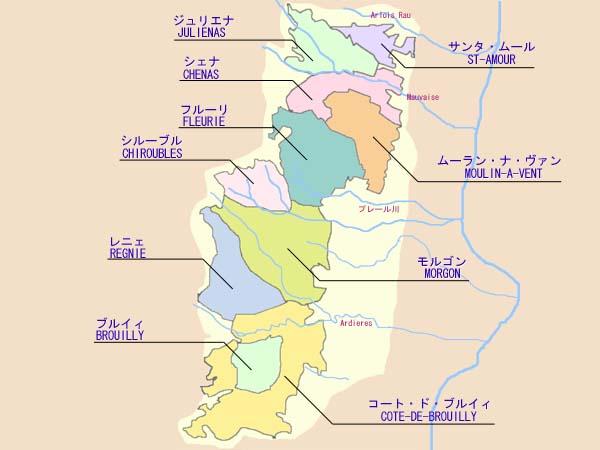 ワイン検索-クリュ・ボジョレ